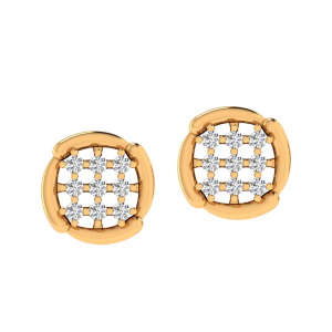 The Spectral Find Diamond Stud Earrings