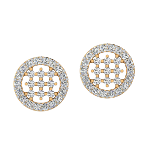 The Stunning Beats Diamond Stud Earrings