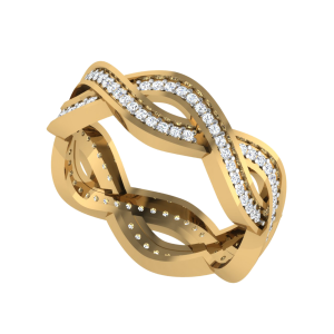 We Are For Infinity Eternity Diamond Band Ring