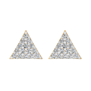 The Trillion Theatrics Diamond Stud Earrings