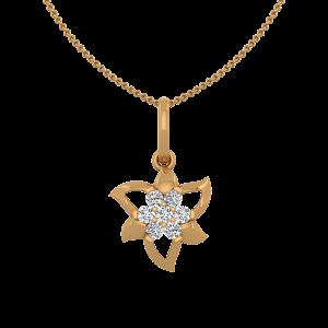 The Floral League Diamond Pendant