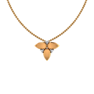 The Golden Conclave Gold Diamond Pendant