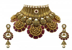 Maharani Gold & Ruby Necklace
