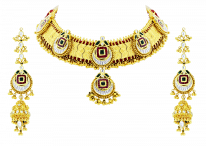 Royal Choker Gold Necklace