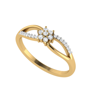 The Spring Corsage Diamond Ring