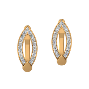 Glam Galore Diamond Stud Earrings
