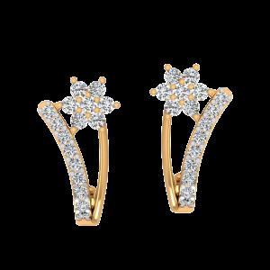 Say It Mine Diamond Stud Earrings