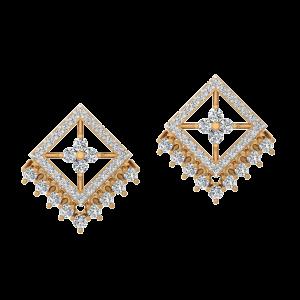 The Charming Bash Diamond Stud Earrings