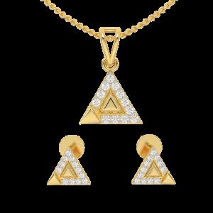 Treat Trio Diamond Pendant Set