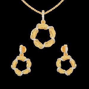 The Life Diamond Pendant Set