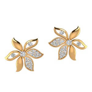 The Romantic Club Diamond Stud Earrings
