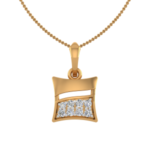 The Tricky Trick Diamond Pendant