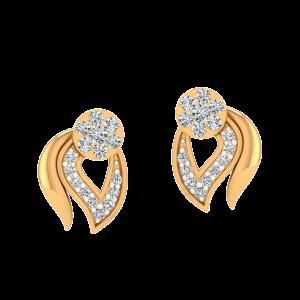 The Playful Play Diamond Stud Earrings