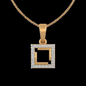 The Glamorous Frame Diamond Pendant