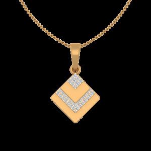 Dual Wow Diamond Pendant