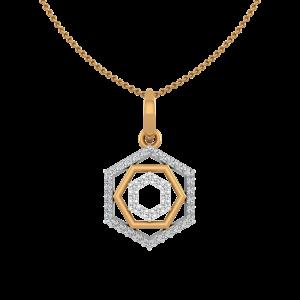 Multigon Diamond Pendant