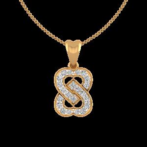 Locked Forever Diamond Pendant