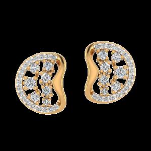 The Fold Beauty Diamond Stud Earrings