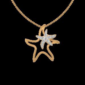 Pseudostar Diamond Pendant