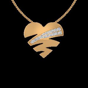 Kinda Heart Diamond Pendant