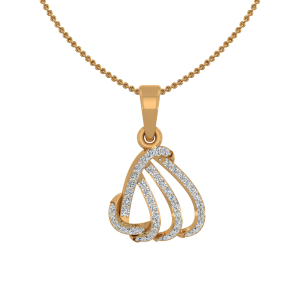 The Fantastic Gold Diamond Pendant