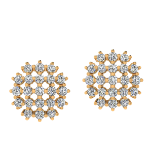The Sunshine Diamond Stud Earrings