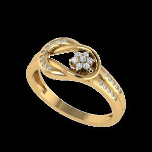 The Floret Arc Designer Diamond Ring