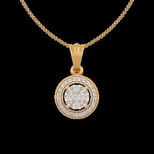 The Roundabout Play Gold Diamond Pendant