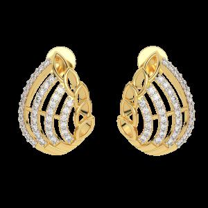 The Bow Bouquet Diamond Stud Earrings