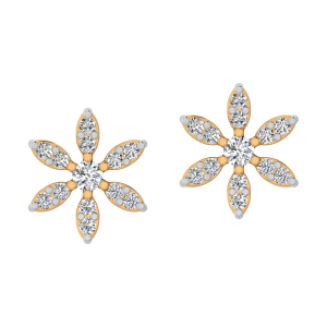 Starry Affair Diamond Stud Earrings