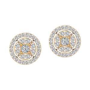 The Equilibrium Diamond Stud Earrings