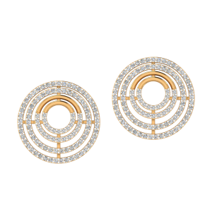 The Illusion Diamond Stud Earrings