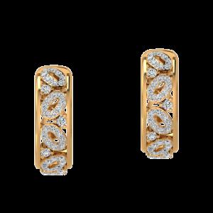 Dot Zero Throwback Diamond Stud Earrings