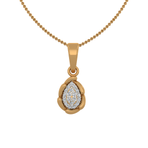 The Fancy Treat Gold Diamond Pendant