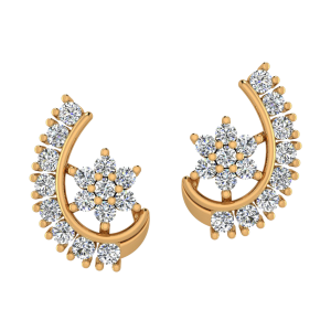 Dream Reveal Diamond Stud Earrings
