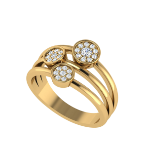 Day Dream Dance Diamond Ring