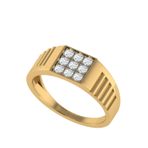 The Cyrus Men`s Nine Diamond Ring