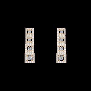 The Diamond Tower Stud Earrings