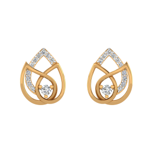 New Beginnings Diamond Stud Earrings