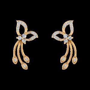 Blessed Forever Diamond Stud Earrings