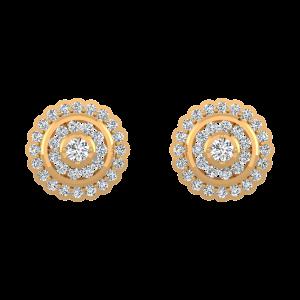 Ethnic Find Diamond Stud Earrings