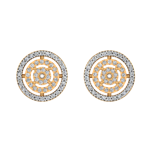 Diamond Aura Diamond Stud Earrings