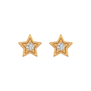 Starry Nights Diamond Stud Earrings