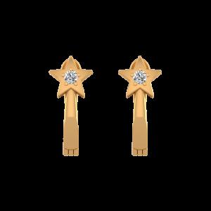 Starry Beauty Diamond Stud Earrings