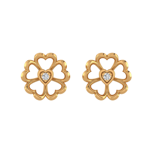 Love Grandeur Diamond Stud Earrings