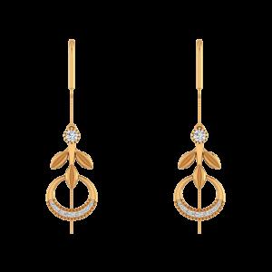Like N Shine Diamond Dangle Earrings