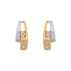 The Better Half Diamond Stud Earrings