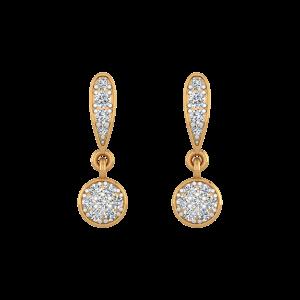 Endless Glitter Diamond Drop Earrings