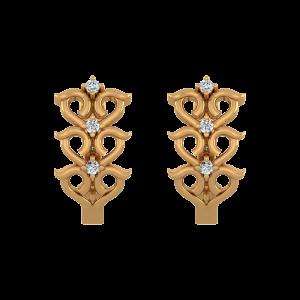 The Blossom Way Diamond Stud Earrings