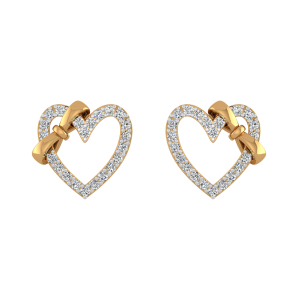 Best Buddy Diamond Stud Earrings